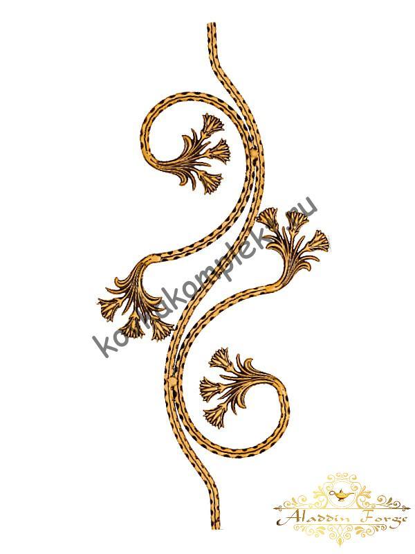 Балясина 35 х 75 см (арт. 1317)