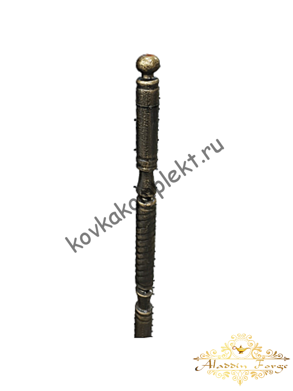 Столб кованый для перил 4,8 х 100 см (арт. 1500)