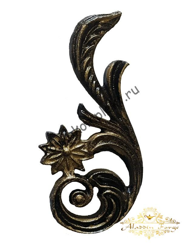 Декоративная накладка 7,5 х 16 см (арт. 3516/1)