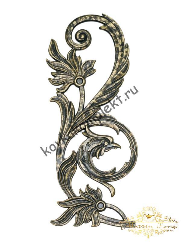 Декоративный узор 27 х 64 см (арт. 1512)