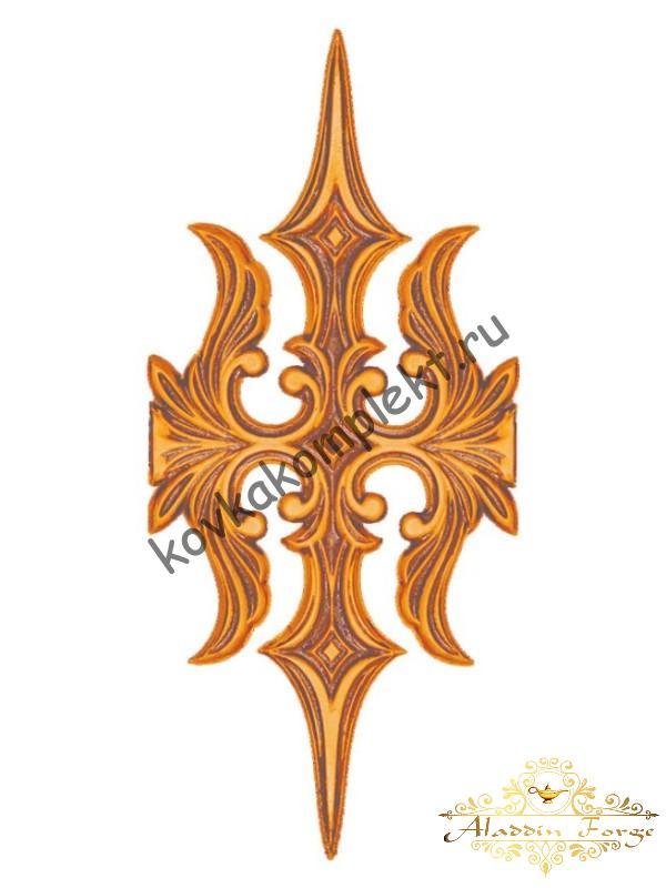 Декоративный узор 12 х 27 см (арт. 3261)