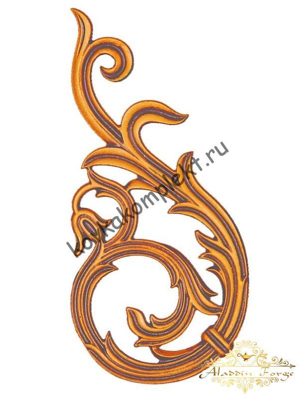 Декоративный узор 12 х 24,5 см (арт. 3256)