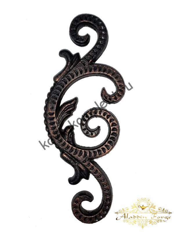 Декоративный узор 9 х 21 см (арт. 4024)