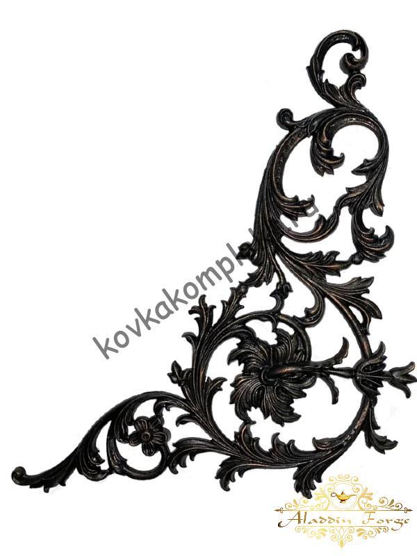 Декоративная накладка 54 х 57 см (арт. 4478)