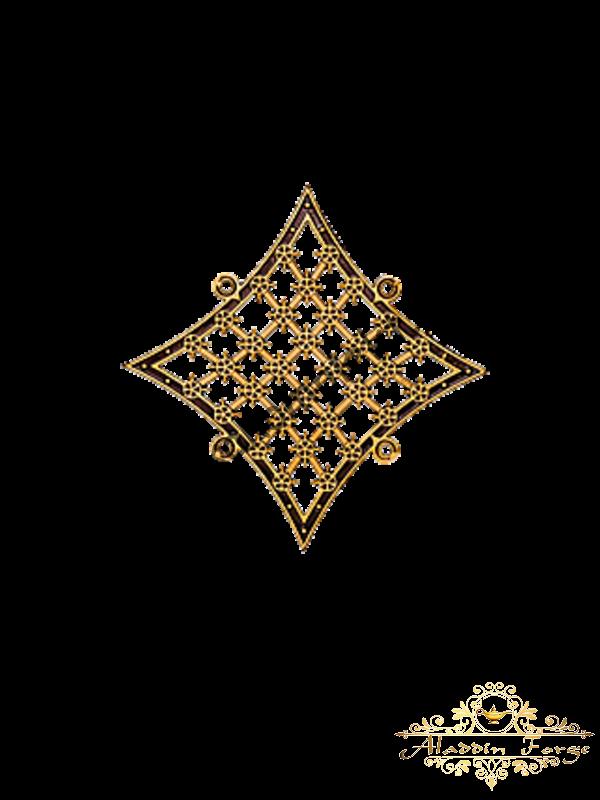 Декоративный узор 24 х 24 см (арт. 3284)