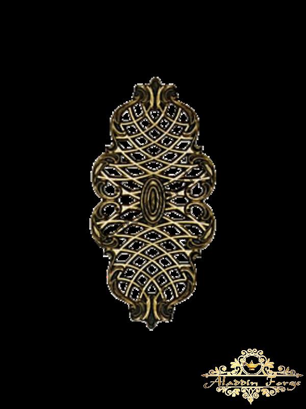 Декоративная накладка 18 х 37 см (арт. 3524)