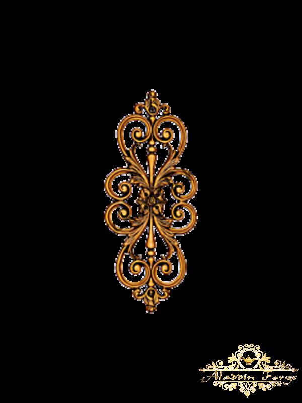 Декоративная накладка 19 х 46 см (арт. 3526)