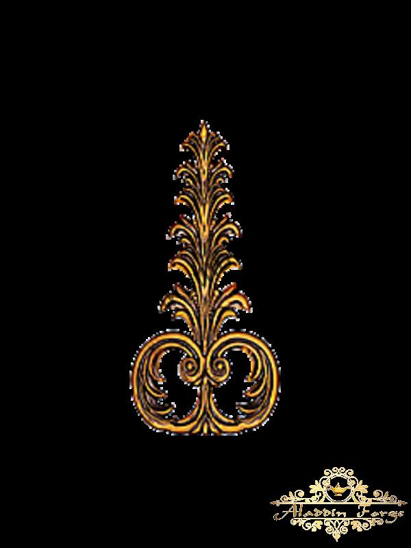 Декоративный узор 12 х 25 см (арт. 3250)