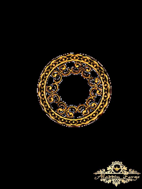 Декоративный узор 12 х 12 см (арт. 3274)