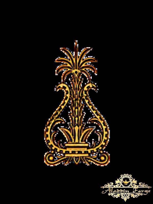 Декоративный узор 12 х 23 см (арт. 3257)