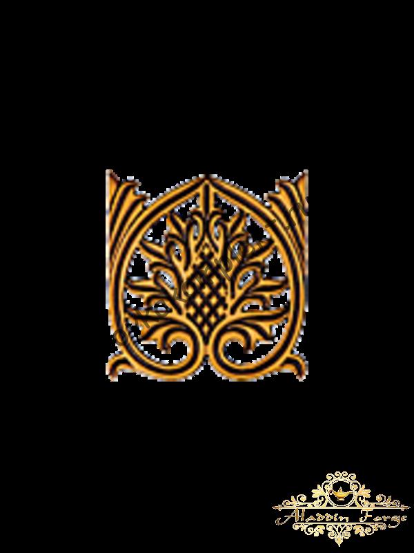 Декоративный узор 12 х 12 см (арт. 3271)