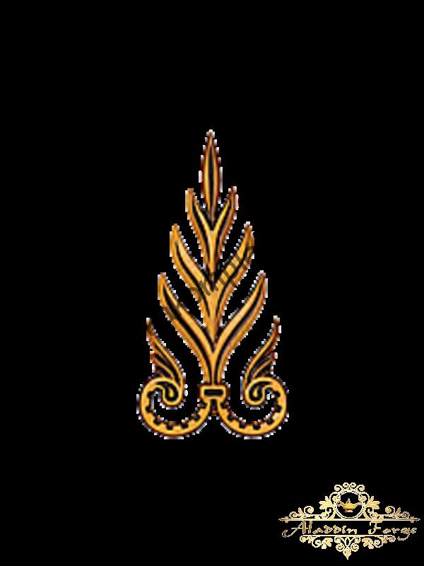 Декоративный узор 12 х 24 см (арт. 3260)