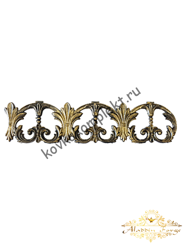 Декоративный узор (полоса) 12 х 48 см (арт. 4038)