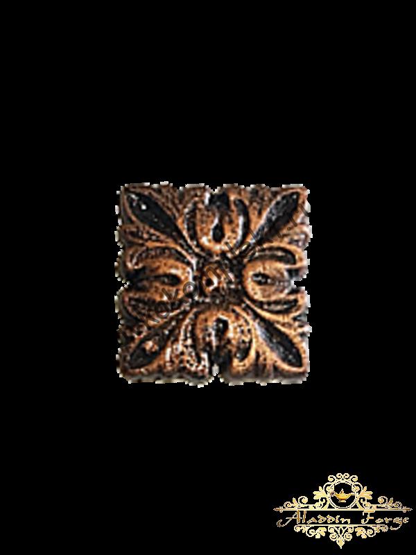 Декоративная накладка 5 х 5 см (арт. 3551)