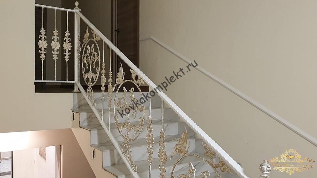 Кованые ограждения (лестница18)