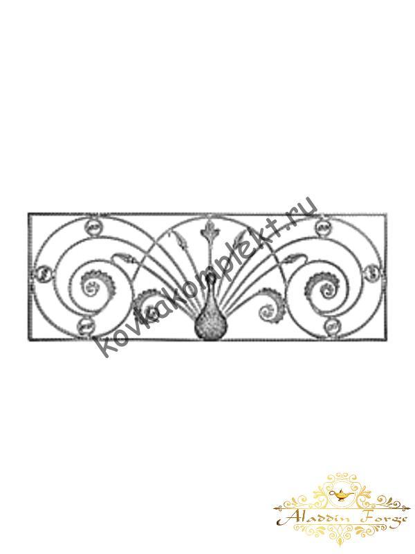 Панель декоративная 152 х 64 см (арт. 6828)