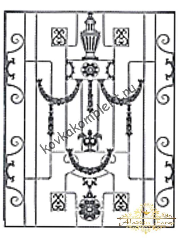 Панель декоративная 125 х 160 см (арт. 6706)