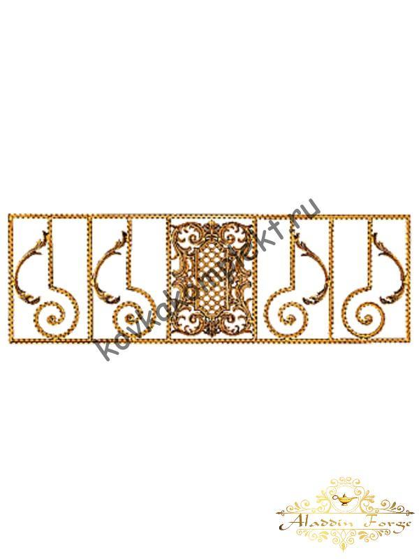 Панель декоративная 40 х 125 см (арт. 6151)