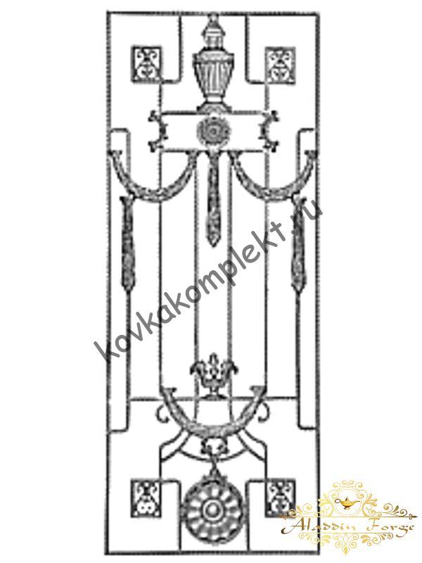 Панель декоративная 80 х 160 см (арт. 6699)