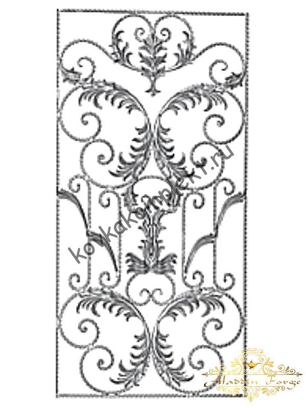 Панель декоративная 80 х 160 см (арт. 6631)