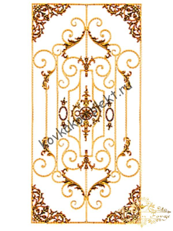 Панель декоративная 95 х 195 см (арт. 6664)