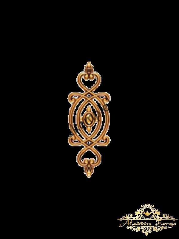 Декоративный узор 12 х 34 см (арт. 4011)