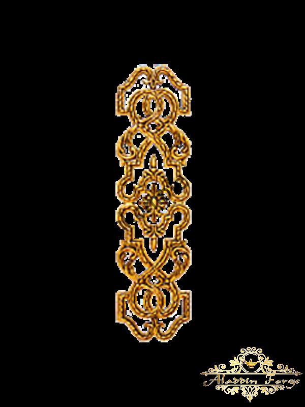 Декоративная накладка 44 х 12 см (арт. 4423)