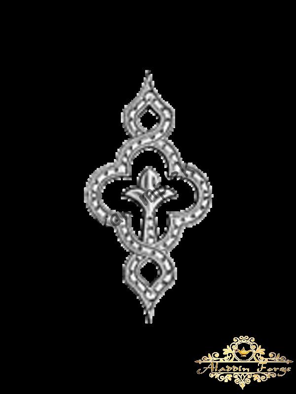 Декоративный узор 12 х 24 см (арт. 4010)