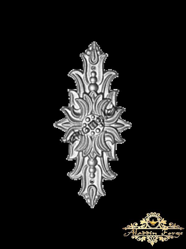 Декоративная накладка 8 х 22 см (арт. 4434)
