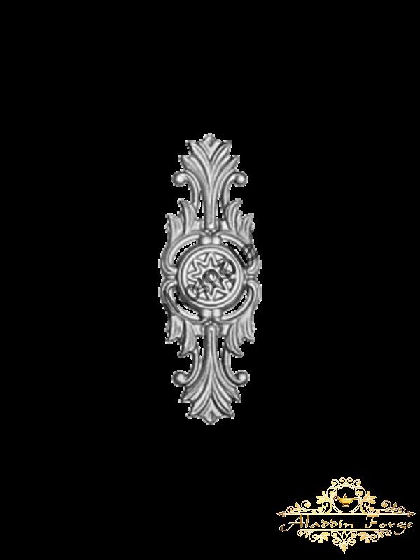Декоративная накладка 8 х 22 см (арт. 4444)