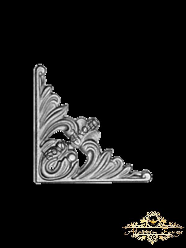 Декоративный кованый элемент (арт. 3727)