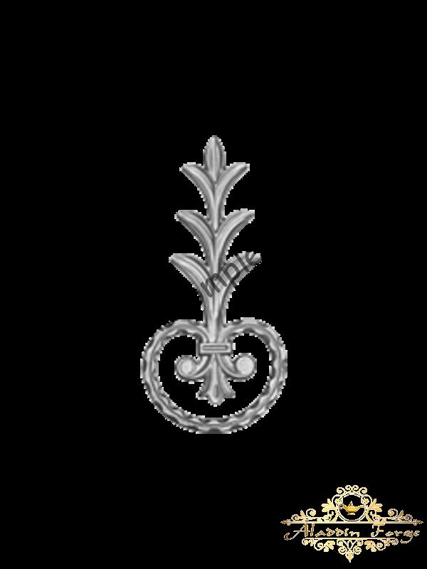 Декоративный узор 12 х 25,5 см (арт. 4022)