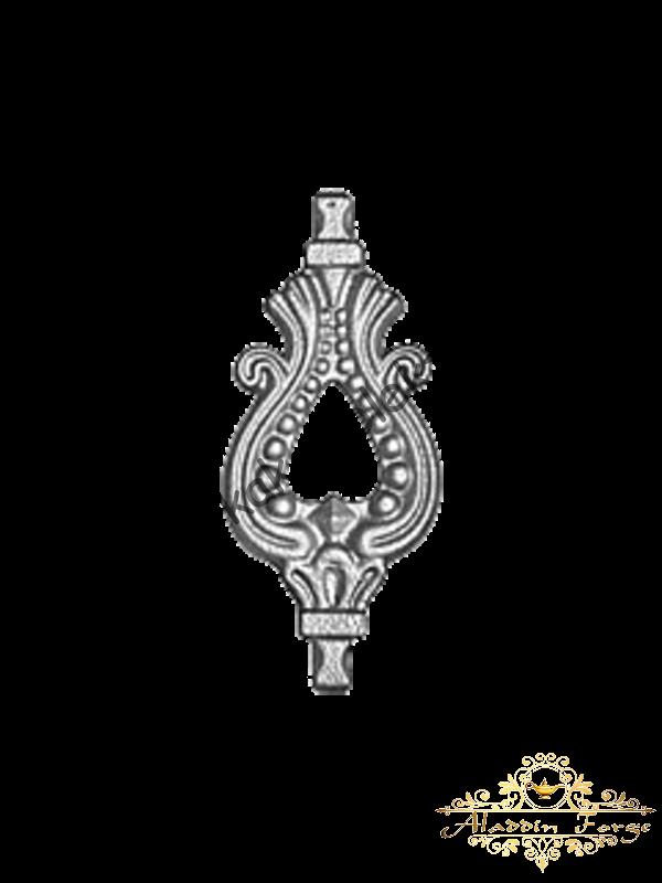 Вставка балясины 7 х 16,5 см (арт. 1624/2)