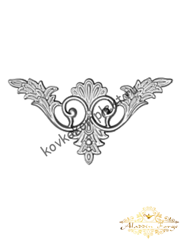 Декоративная накладка 22 х 22 см (арт. 4437)
