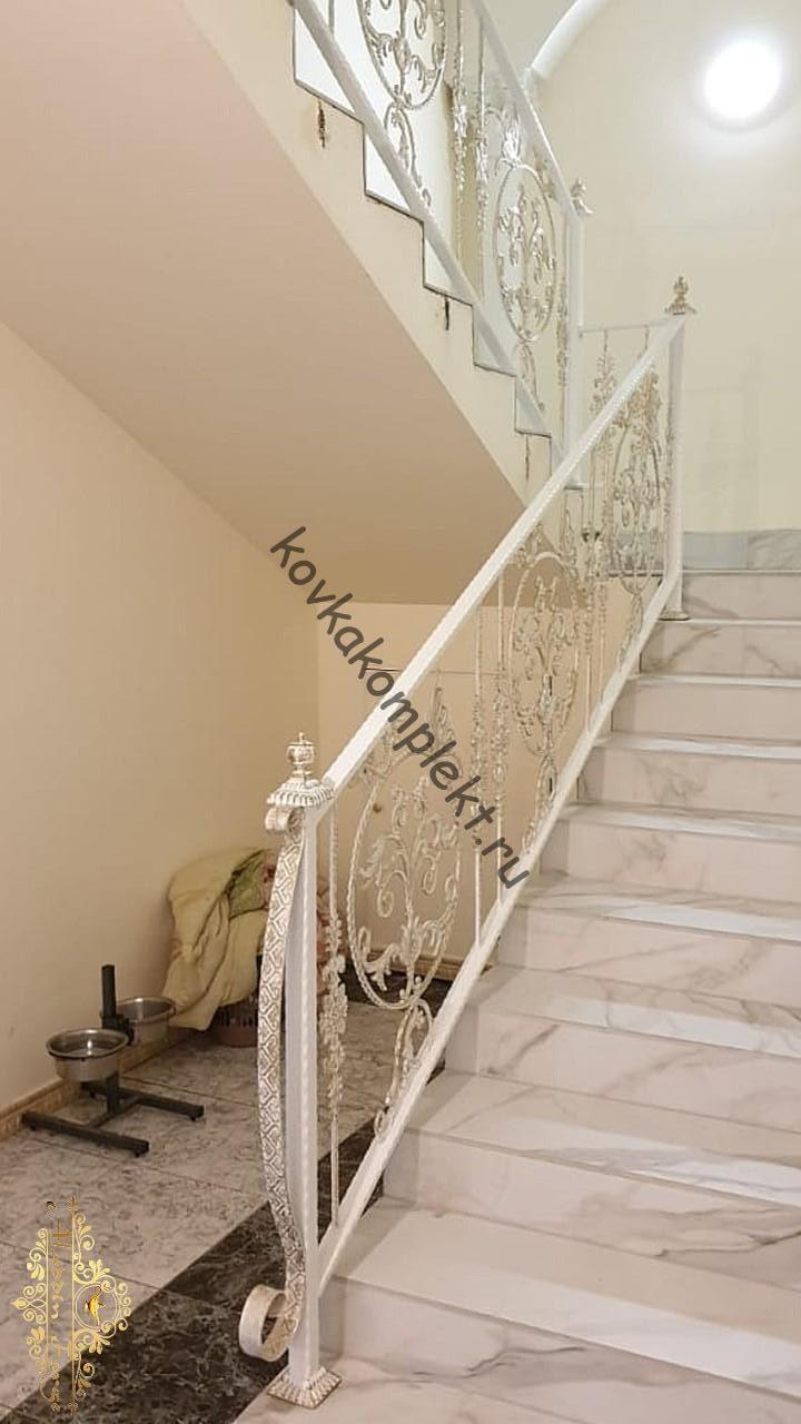Кованые ограждения (лестница20)