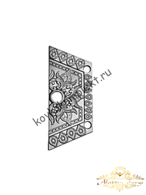 Декоративная накладка 13 х 31 см (арт. 4403/1)