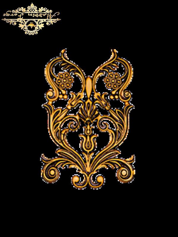 Декоративный узор 22 х 33 см (арт. 3290)