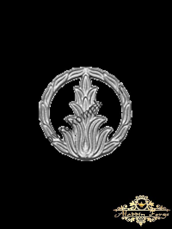 Декоративный узор 12 х 12 см (арт. 4035)
