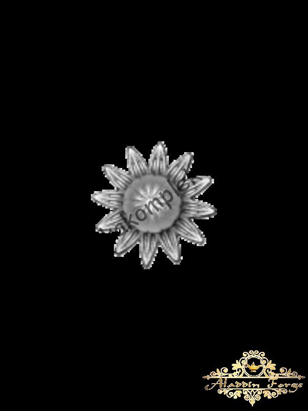 Декоративный кованый элемент (арт. 3729)