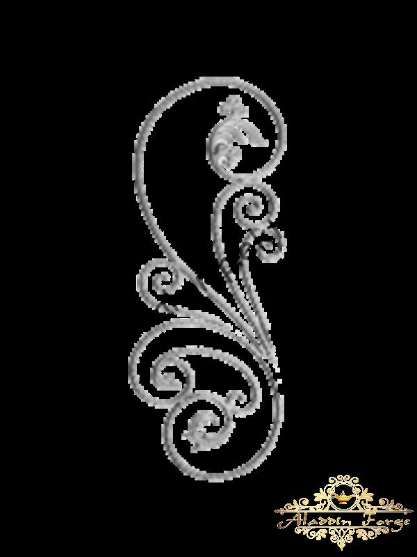 Балясина 110 х 40 см (арт. 1723)