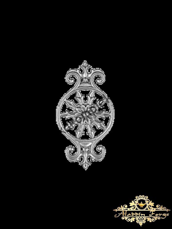 Кованый декоративный элемент (арт. 3616)