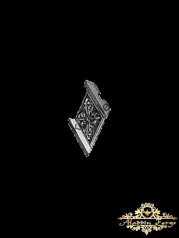 Декоративная накладка 7 х 8 см (арт. 4411)