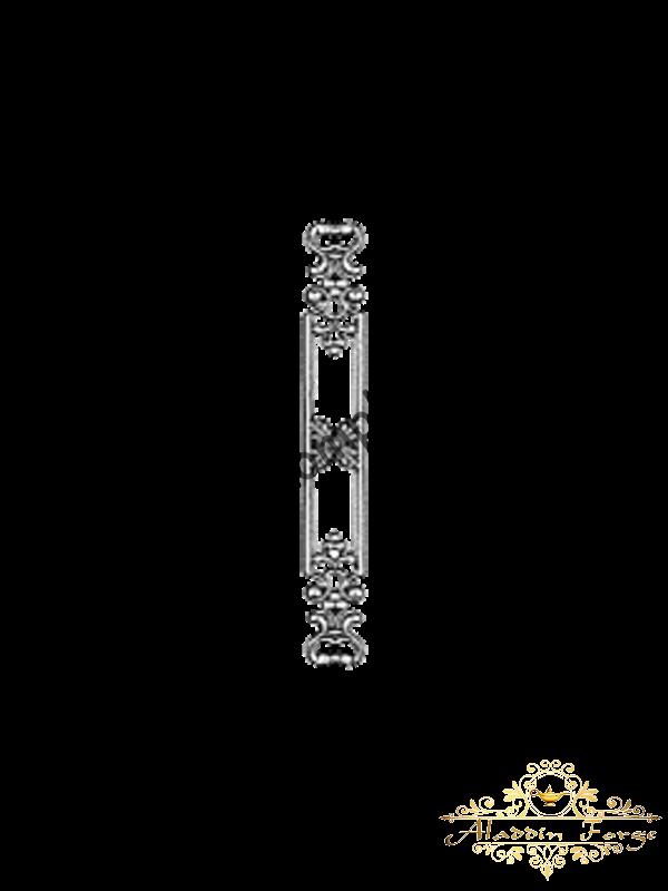 Кованая литая накладка (арт. 3627)