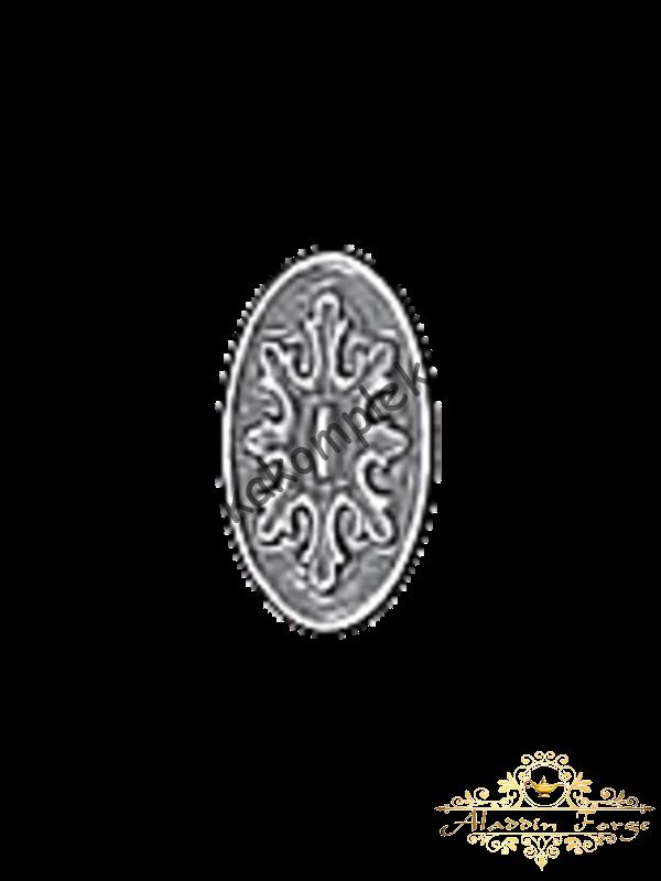 Декоративная накладка 5 х 9 см (арт. 4416)