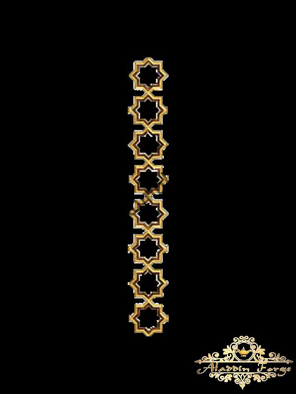 Декоративный узор (полоса) 43,5 х 12 см (арт. 4037)