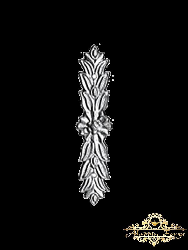 Декоративная накладка 4 х 20 см (арт. 4430)