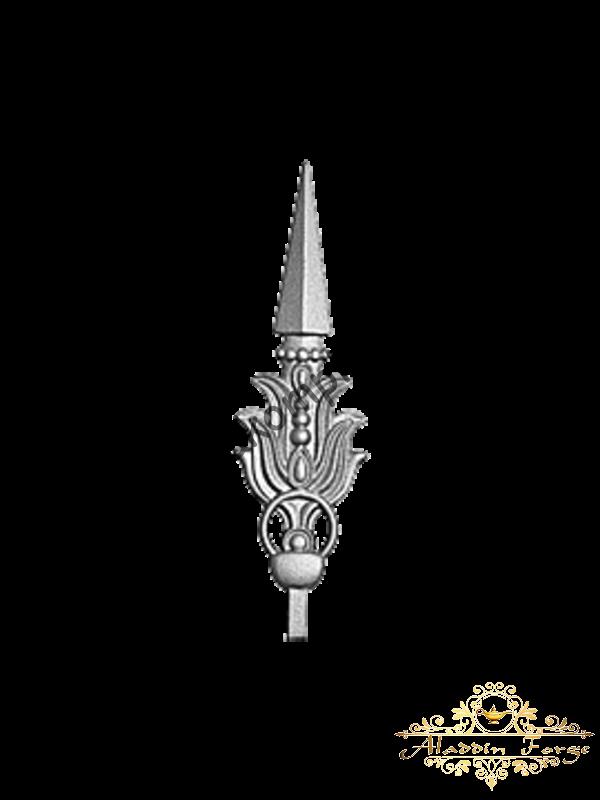 Кованая пика 8 х 28,5 см (арт. 7509)