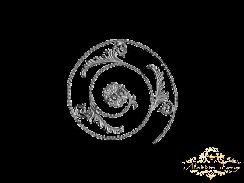 Розетка кованная 52 х 58 см (арт. 8616)