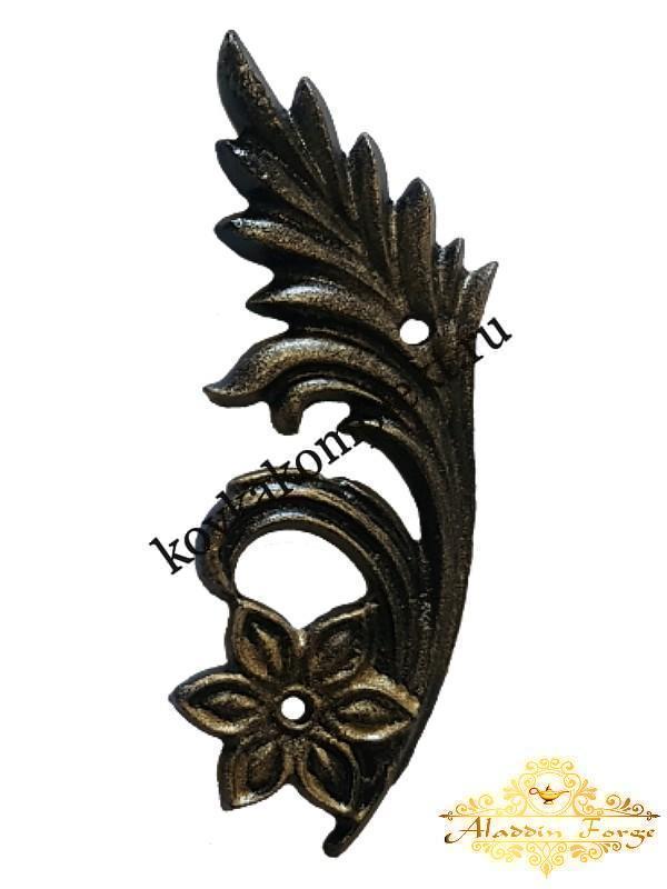 Декоративная накладка 7 х 19 см (арт. 3517/1)