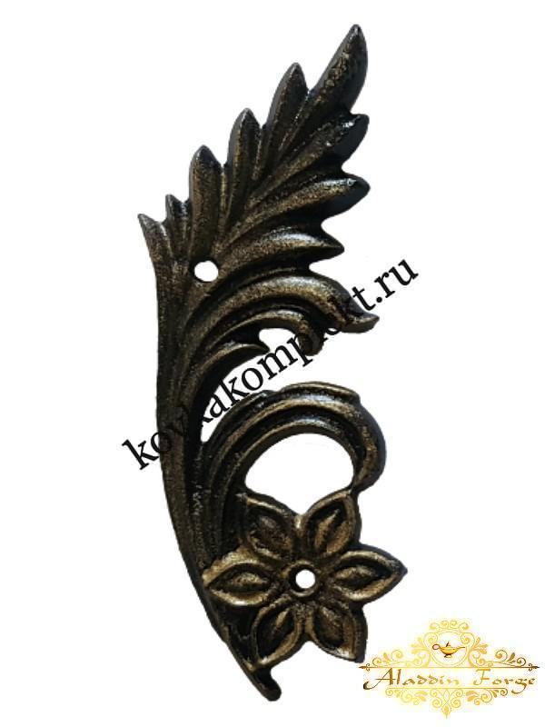 Декоративная накладка 7 х 19 см (арт. 3517)